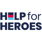 Help for Heroes Business Logo Sign