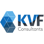 KVF Consultants Company Logo Wall Sign