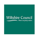 Wiltshire Council Custom Logo Sign