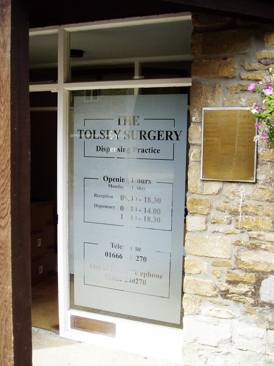 tolsey surgery